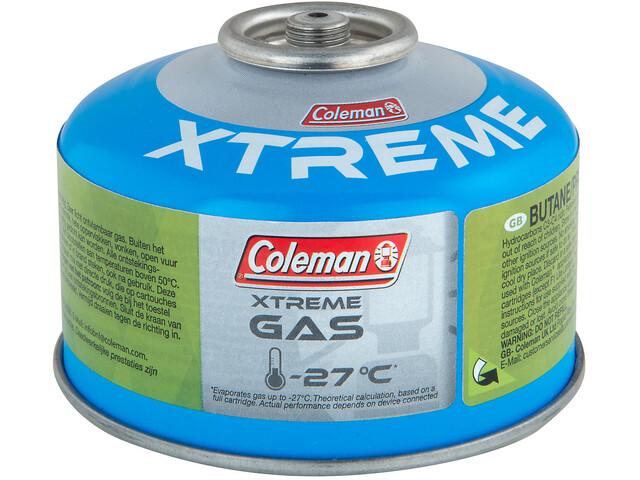 Coleman C100 Xtreme 2.0 Cartucho de Gas de Válvula, white/blue/green